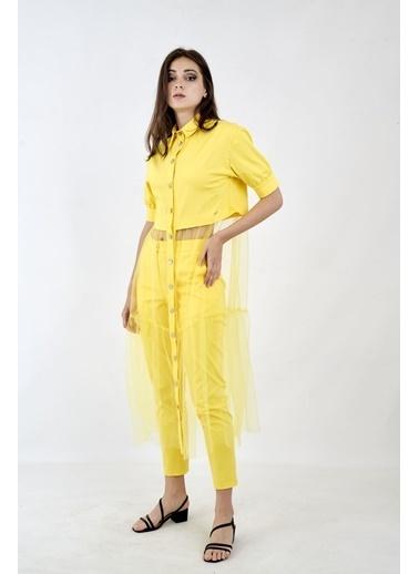 JEANNE D'ARC 2 li Takım Sarı